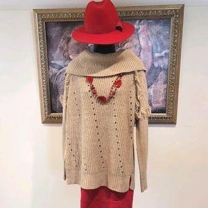 Knox Rose large collar sweater